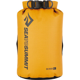 Sea to Summit Big River Reisbagage 8l geel